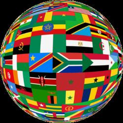 African Globes Flag