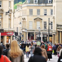 Town High Street Shopping