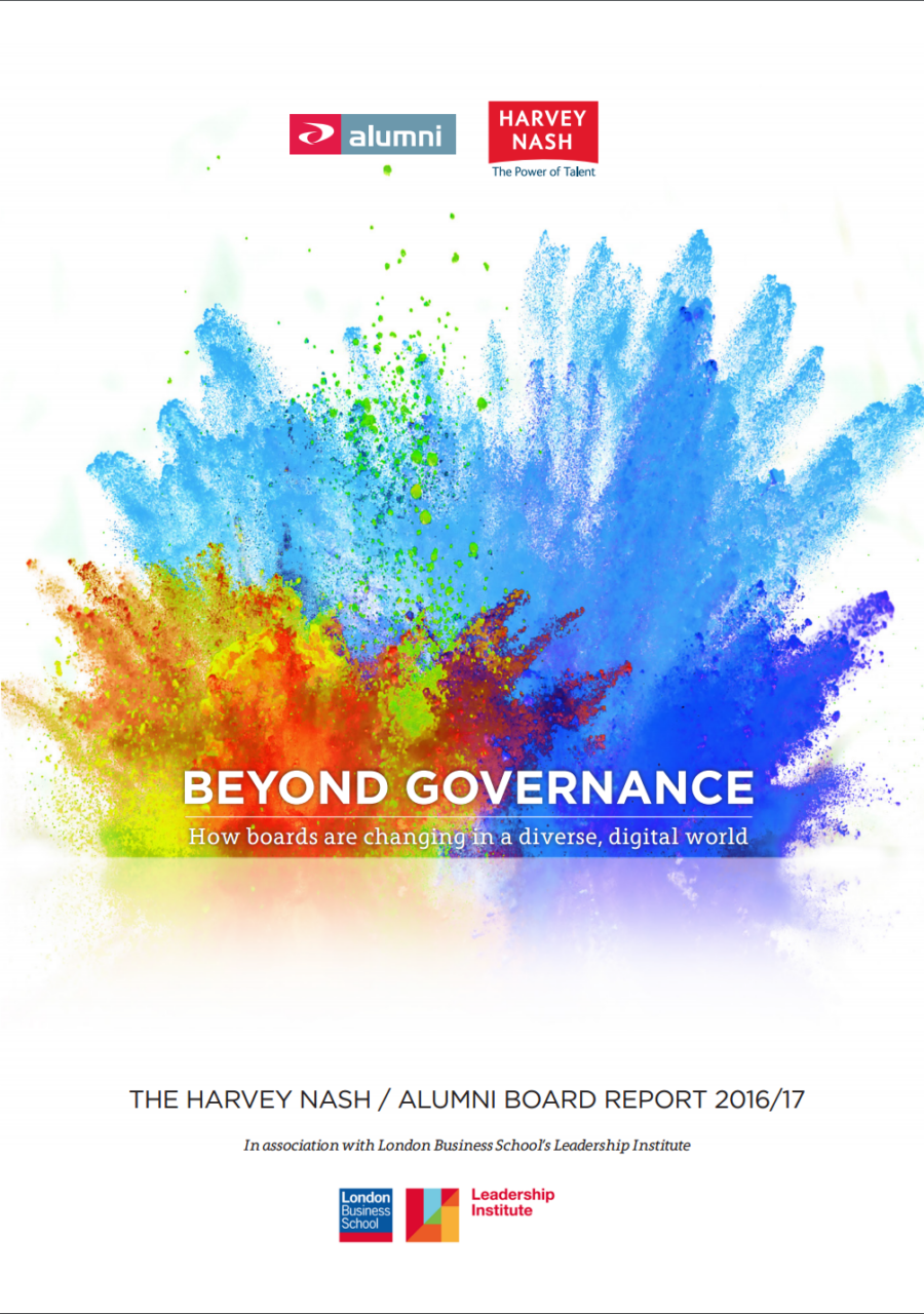 Harvey Nash   Beyond Governance